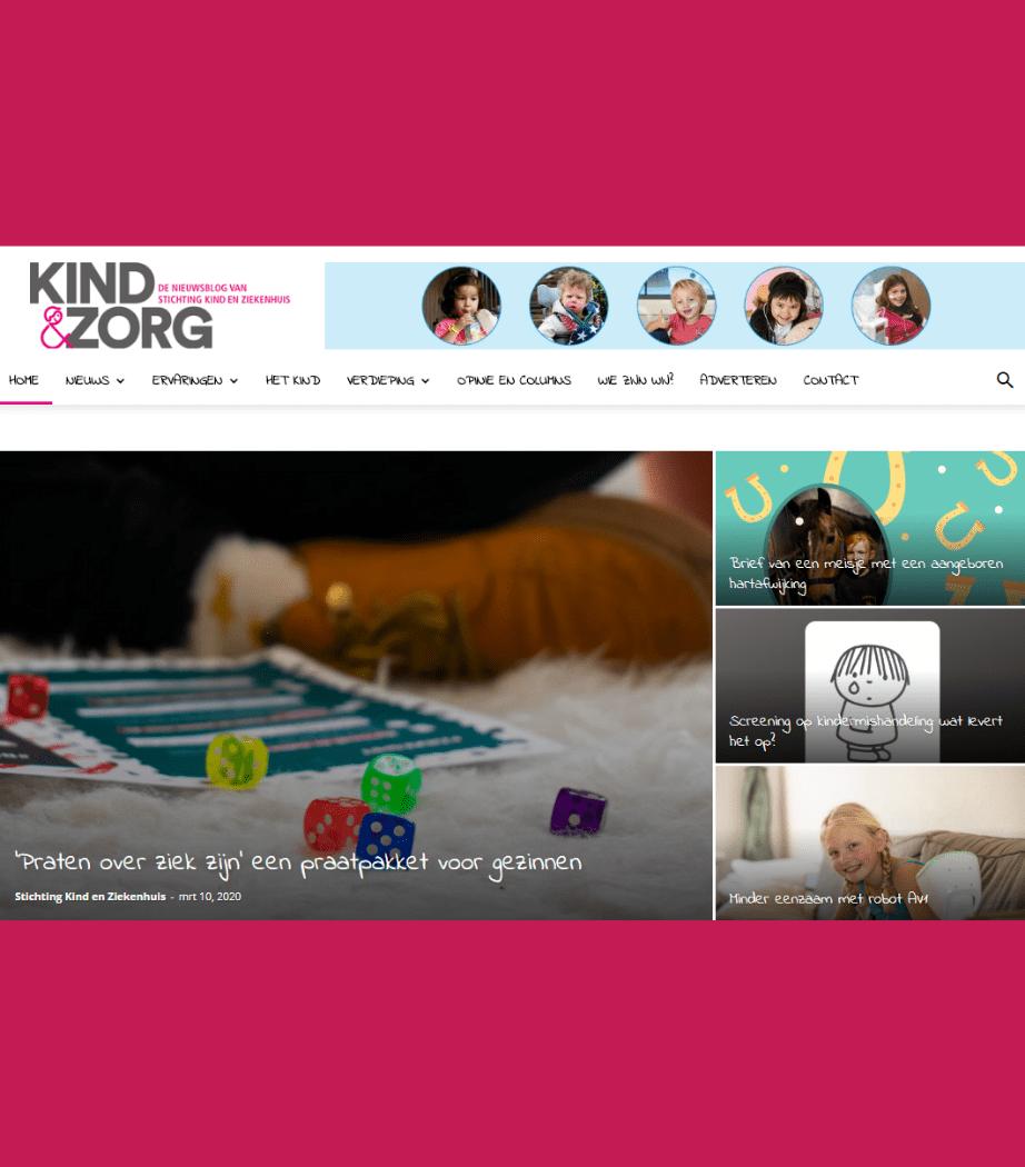 Kind & Zorg weblog