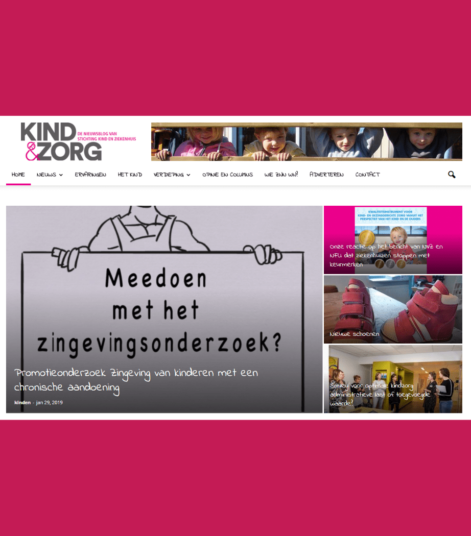 Kind & Zorg content marketing